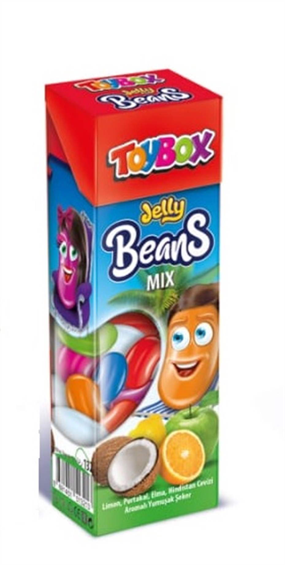 Toybox Jelly Beans Mix 30 Gr.